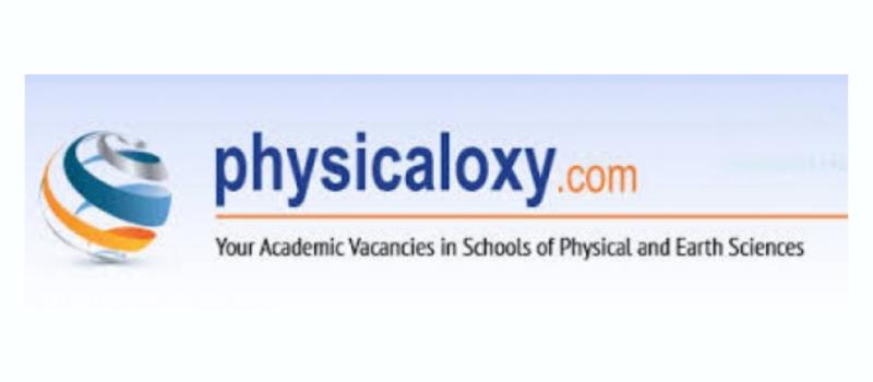 Banner de physicaloxy.com donde están las propuestas de doctorados que se publican en la noticia.