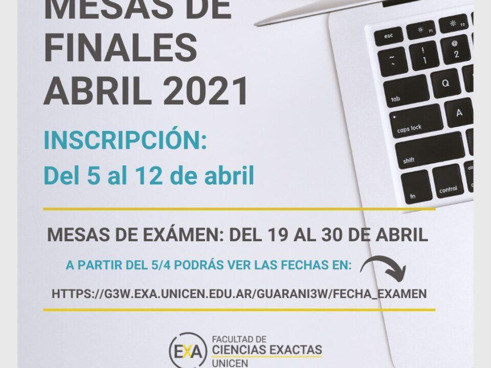 Banner de las fechas de finales de abril-mayo